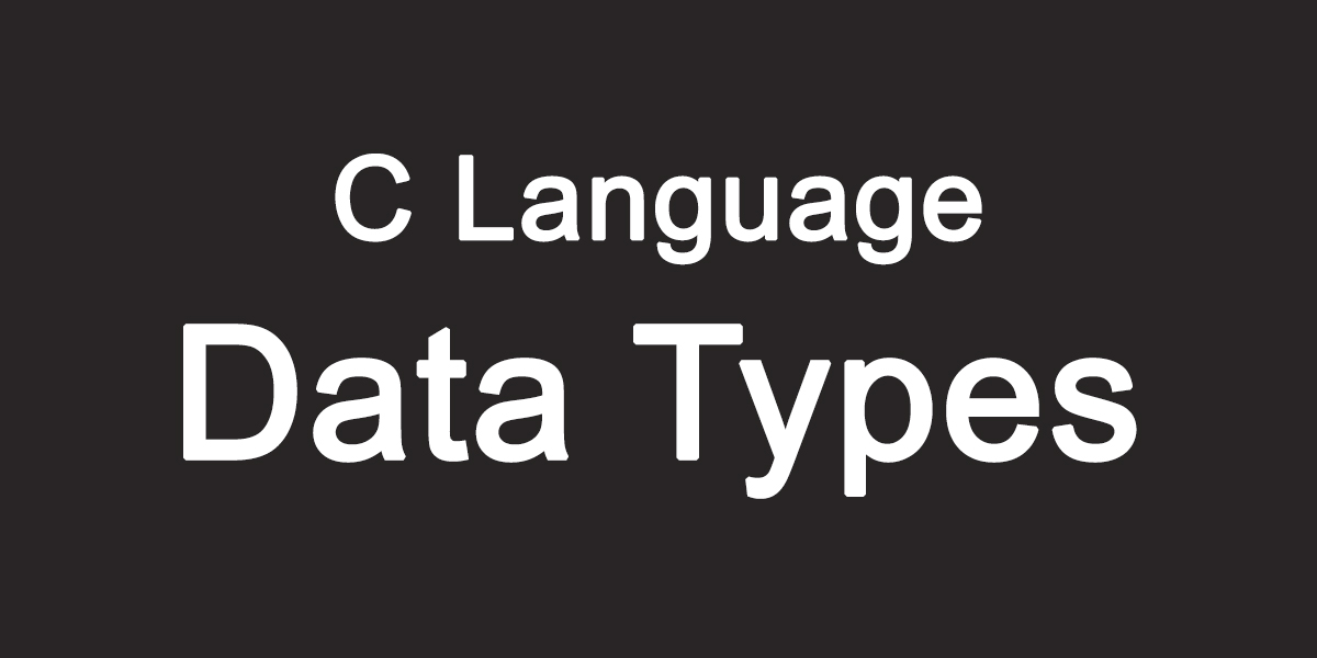 Learn C Language In Hindi - Data Types In C