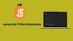 Javascript If else